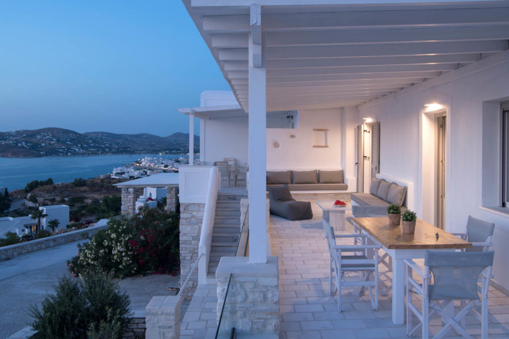 paros villas for rent